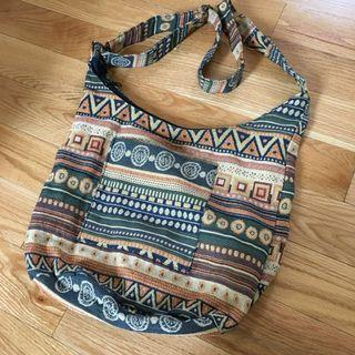 Aztec pattern bag