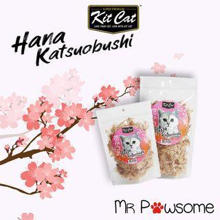Kit Cat Hana Katsuobushi Cat Treats 50g and 150g