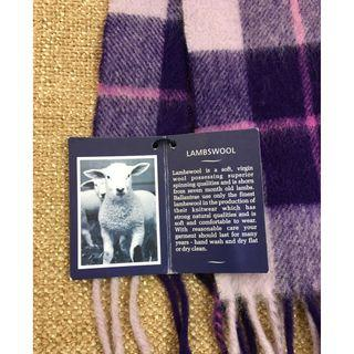 100% LAMBSWOOL SCARF - BALLANTRAE  EDINBURGH -
