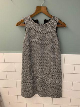 Tweed basic work dress