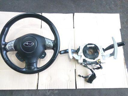 Steering Subaru legacy