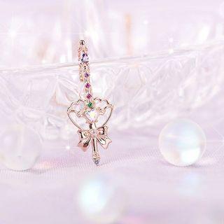 Clue x Wedding Peach Necklace 婚紗小天使系列頸鏈