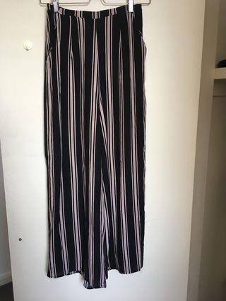 Universal Store Perfect Strangers Stripe Pants Culottes