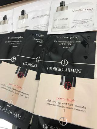 Giorgio Armani serum/base/concealer