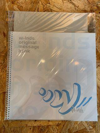 W-Inds. 2004 message book 全新 CN009