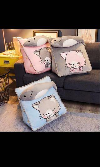 🚚 [Instock] Cat Pillow/Backrest