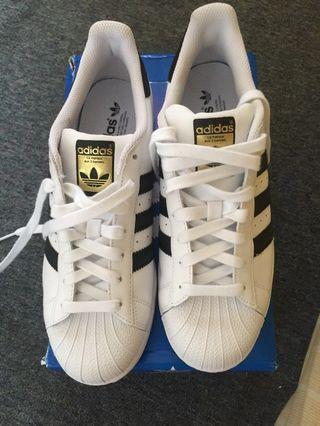 #BAPAU Adidas Superstar NEW White