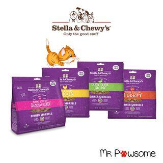 [18oz] Stella & Chewy's Cat Dinner Morsels/Freeze Dried Food