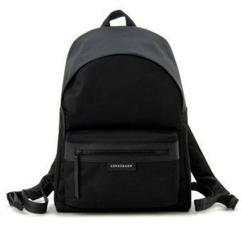 🚚 Longchamp 1119 Black Backpack