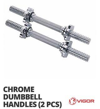 Vigor Dumbbell Handles 28mm diameter