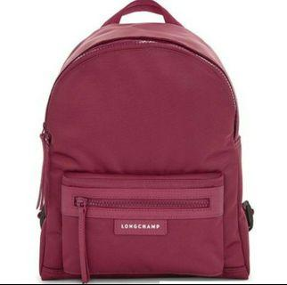 🚚 Longchamp 1119 Wine Red Backpack