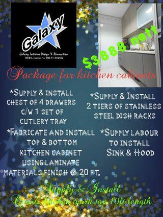 Kitchen Package Offer!!