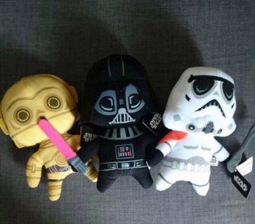 New Star War 黑白武士 一套三隻