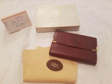 Cartier Brown Wallet