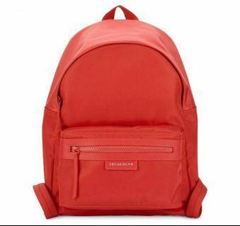 🚚 Longchamp 1119 Red Backpack