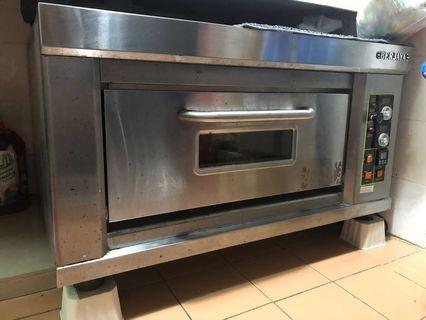 Berjaya electrical single deck backing oven