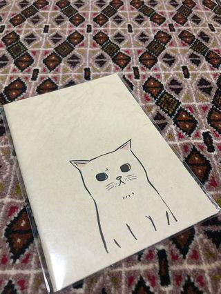 Kitty Cat Notebook A5 (Plain)