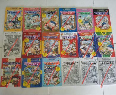 🚚 Survival Science Comics & World History Adventrue Comics (Treasure Hunting)