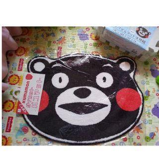 熊本熊 KUMAMON BEAR HEAD BATH MAT BATH RUG MAT  特大軟綿綿地毯家居