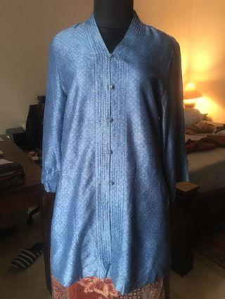 #BAPAU PARANG KENCANA batik silk kebaya dress top mote