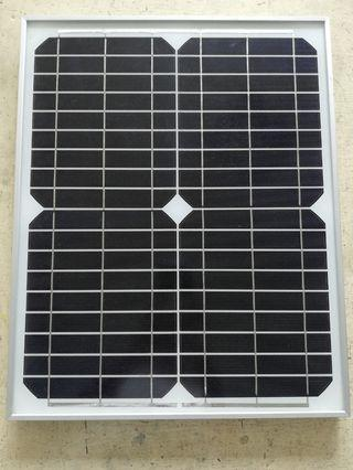 🚚 Mono Solar Panel 20W 12V