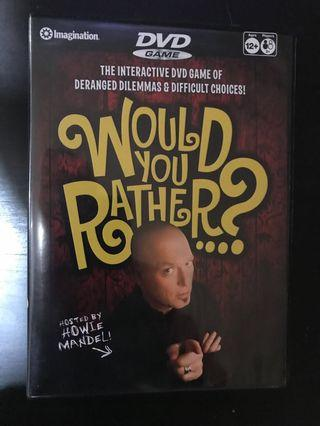Would you Rather? CD game