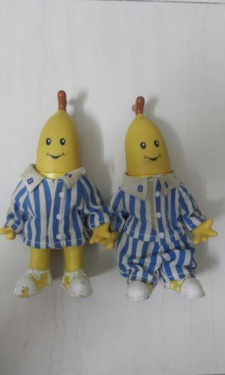 Banana in pyjamas