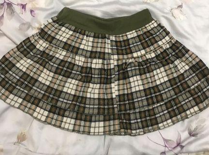🚚 棉質 格子裙