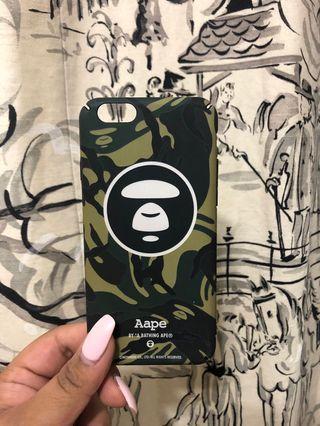 Unauthentic Aape iPhone 6/6s Case