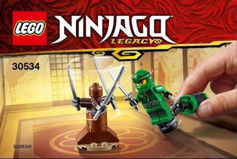 Lego Ninjago 30534 Lloyd Ninja Workout
