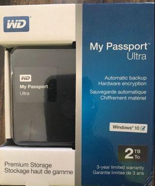 🚚 My Passport Portable Hard Drive 2TB