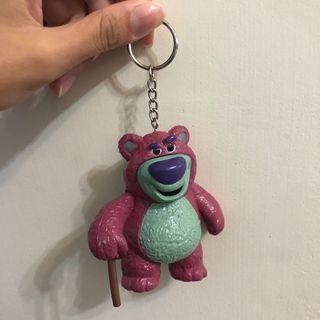 🚚 熊豹哥 可愛鑰匙圈