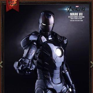 THE AVENGERS IRON MAN MARK VII (STEALTH MODE VERSION) MOVIE PROMO EDITION 1/6TH SCALE COLLECTIBLE FIGURE