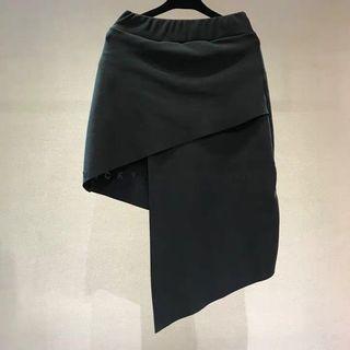 韓國靚牌Paris Match設計感不規則半裙