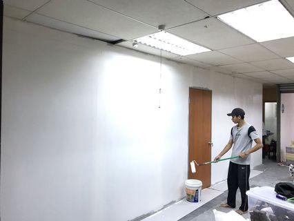 Pasang dinding partition untuk Bilik, rumah, kedai dan Kilang