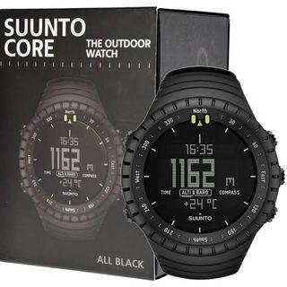 Jam tangan SUUNTO CORE All Black Military SS014279010 ORIGINAL.