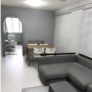 [TANAH MERAH MRT] 2 BEDROOM + 1 HALL FOR RENT [ HIGH FLOOR]