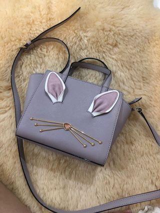Kate spade bunny rabbit mini hayden crossbody
