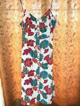 FOREVER21 SUMMER FLORAL DRESS