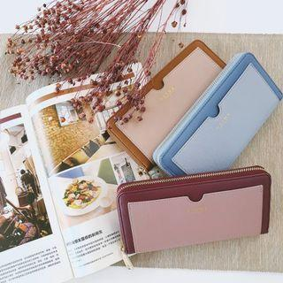 🚚 Authentic Taiwan S'aime Yosh Two tone Long Wallet