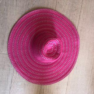 Never Used Hot Pink Fedora Hat