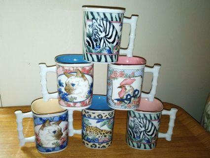 Mix animals Mugs (Rm15 each)