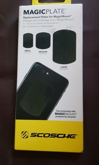 Scosche Magic Mount Replacement Plates