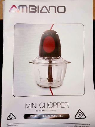 1L Mini Chopper