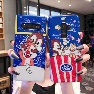 Donald Chip n Dale Samsung S10 / Note 9 / S9 plus casing