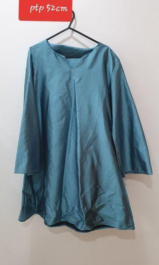 Baju  Kurung turquoise
