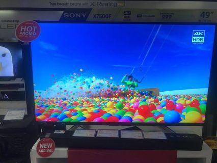 """Sony 43"""" Smart TV Bisa Kredit Gratis 2x Angsuran"""