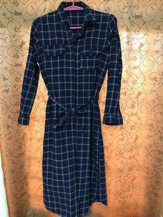JAPAN CHECKERED DRESS