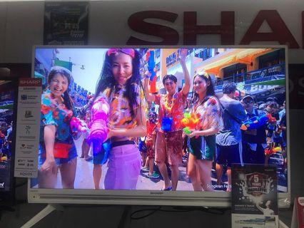 """TV 40"""" Sharp Kredit Tanpa CC. Gratis 2x Cicilan"""