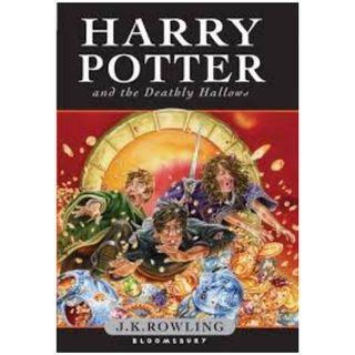 harry potter and the deathly hallows novel J.K. Rowling